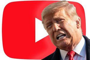 YouTube lại cấm ông Trump
