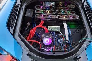 Thanh niên lắp dàn 'trâu cày' tiền số trên BMW i8