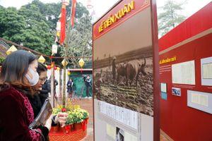Triển lãm Tài liệu Lưu trữ quốc gia Cung đình đón Tết