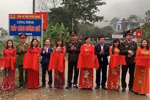 Khánh thành công trình chào mừng Đại hội lần thứ XIII của Đảng