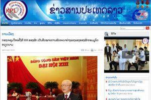 Báo chí Lào ca ngợi thành tựu của Đảng Cộng sản Việt Nam