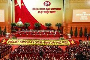 Các đảng, tổ chức, đoàn ngoại giao và bạn bè quốc tế gửi thư, điện chúc mừng đại hội