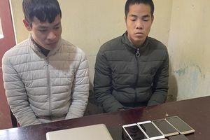 Nghiện game, hai đối tượng đột nhập cửa hàng điện thoại trộm cắp nhiều tài sản