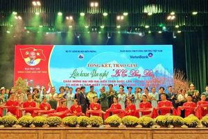 Tổng kết, trao giải Liên hoan văn nghệ 'Lời ca dâng Đảng'