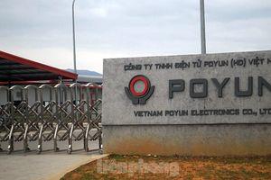 Hình ảnh lực lượng chức năng phong tỏa thành phố Chí Linh