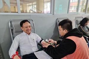 Hiến máu cứu người, việc làm nhân văn tại Đại học Hàng Hải Việt Nam