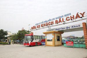 Quảng Ninh tạm dừng toàn bộ hoạt động vận tải khách trên địa bàn tỉnh