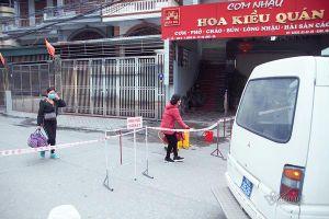 Đón người liên quan tới bệnh nhân Covid-19 ở Quảng Ninh tới khu cách ly
