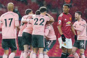 MU thua đội bét bảng ngay tại Old Trafford