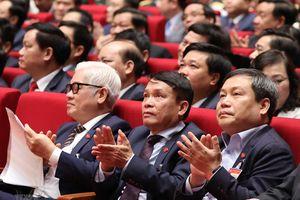 Quang cảnh phiên thảo luận các văn kiện Đại hội XIII của Đảng