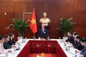 Thủ tướng chủ trì phiên họp với Ban Chỉ đạo quốc gia phòng, chống dịch COVID-19