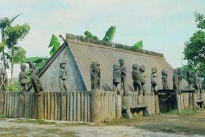 Văn hóa tâm linh qua tượng nhà mồ của đồng bào Tây Nguyên