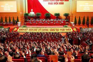 Biểu quyết thông qua số lượng Ủy viên Ban Chấp hành Trung ương khóa XIII