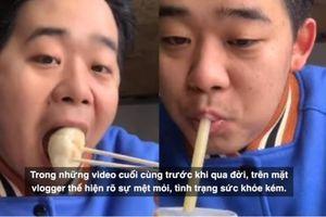 Hot Vlogger 19 tuổi qua đời vì làm quá nhiều video Mukbang
