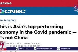 Việt Nam là nền kinh tế tốt nhất châu Á năm 2020