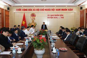 Phó Chủ tịch UBND tỉnh Đầu Thanh Tùng kiểm tra tình hình sản xuất và đời sống Nhân dân tại huyện Nông Cống