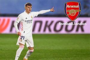 Odegaard tăng cường sức sáng tạo cho Arsenal