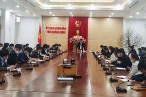 Quảng Ninh thành lập các tổ truy vết Covid-19 tới tận thôn, khu