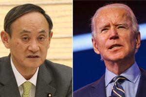 Thủ tướng Nhật Bản Suga điện đàm với Tổng thống Mỹ Joe Biden