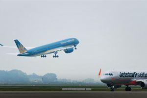 Tăng lượt cất, hạ cánh tại sân bay Tân Sơn Nhất dịp Tết Nguyên đán