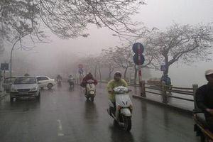 Hà Nội có mưa và rét về đêm và sáng sớm