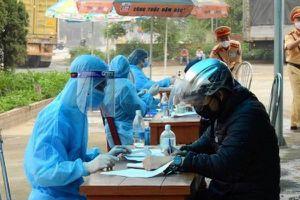 Lập 08 chốt kiểm soát dịch bệnh phòng chống COVID-19 tại các cửa ngõ ra, vào thành phố Hải Phòng