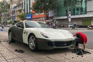 Ferrari 599 GTB 'tình cũ' Đặng Lê Nguyễn Vũ độ ống xả đắt tiền