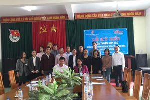 Công ty CP Tiền Phong ký hợp tác với Trung tâm Hướng nghiệp, dạy nghề tỉnh Thanh Hóa