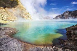 Hồ axit lớn nhất thế giới nằm ở quốc gia nào?
