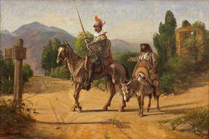 Tại sao Don Quixote đánh nhau với cối xay gió?