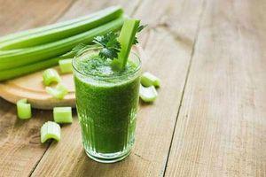 Uống nước ép cần tây như thế nào thì sẽ giảm được cân?