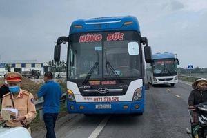 50 hành khách từ vùng có dịch vào Quảng Ngãi đã xuống xe dọc đường
