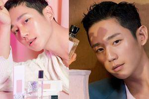 Jung Hae In bỗng hường phấn và bóng bẩy trong loạt ảnh mới