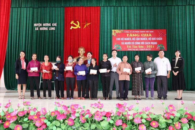 TNH99 Việt Nam mang Tết an vui đến với người nghèo Hà Tĩnh