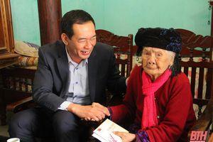 Phó Bí thư Tỉnh ủy Trịnh Tuấn Sinh kiểm tra tình hình sản xuất và đời sống Nhân dân tại huyện Yên Định