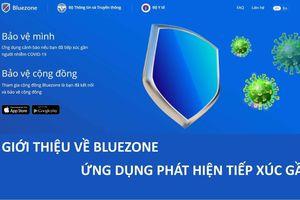 Lượt cài đặt Bluezone tăng mạnh
