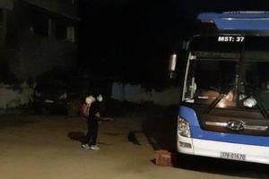 Nghệ An: Chặn bắt xe khách chạy vượt tuyến chở 14 người từ Hải Dương về