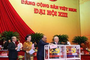 Đại hội XIII của Đảng: Bỏ phiếu bầu Ban Chấp hành Trung ương khóa XIII