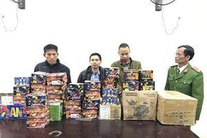 Triệt xóa đường dây mua bán pháo nổ 'khủng' ở Nghệ An