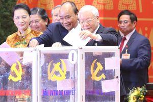Bỏ phiếu bầu Ban Chấp hành Trung ương khóa XIII
