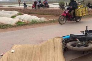 Bắc Giang: Va chạm với xe Howo chở đất, thanh niên tử vong thương tâm