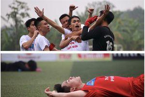 Ngược chiều cảm xúc ở chung kết bóng đá học sinh THPT Hà Nội 2020