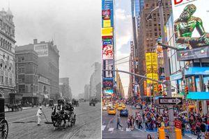 Sự thay đổi của những thành phố lớn trên thế giới