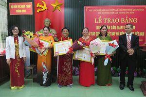 Quảng Bình: Vinh danh các nghệ nhân dân gian gìn giữ tinh hoa văn hóa