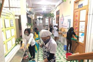 Ninh Bình: Trường học rốt ráo phòng chống Covid-19