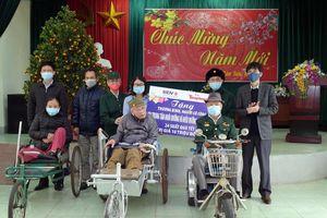Nghĩa cử tri ân thương binh nặng ở Ninh Bình, Thái Bình