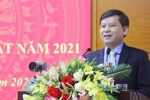 Viện trưởng Lê Minh Trí gửi thư chúc mừng năm mới Tân Sửu 2021