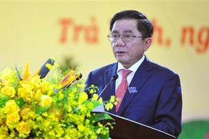 Ông Trần Cẩm Tú tiếp tục được bầu làm Chủ nhiệm UBKT Trung ương khóa XIII