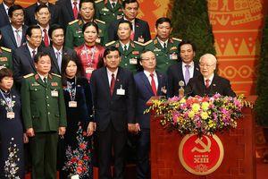 Hình ảnh phiên Bế mạc Đại hội XIII của Đảng
