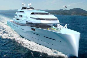 Siêu du thuyền có phòng trưng bày nghệ thuật và garage siêu xe